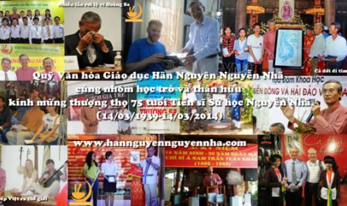 Giới thiệu Quỹ Văn hóa Giáo dục Hãn Nguyên Nguyễn Nhã